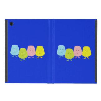 Four smiling gumdrops cover for iPad mini