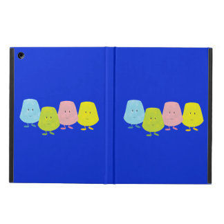 Four smiling gumdrops cover for iPad air