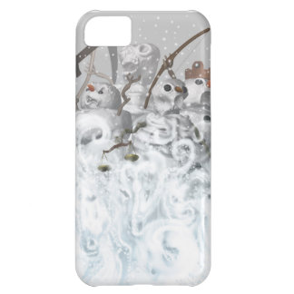 Four Snowmen of the Apocalypse Cover For iPhone 5C