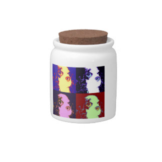 Four Sophies Candy Jar
