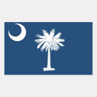 FOUR South Carolina Flag Stickers