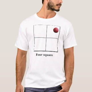 Four square Live it T-Shirt