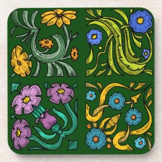 Four Squares Coaster