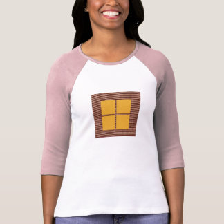 Four Squares Gold T-Shirt