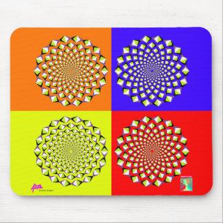 Four Squares Mousepad