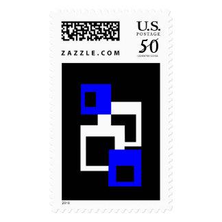 Four Squares Postage