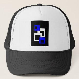 Four Squares Trucker Hat