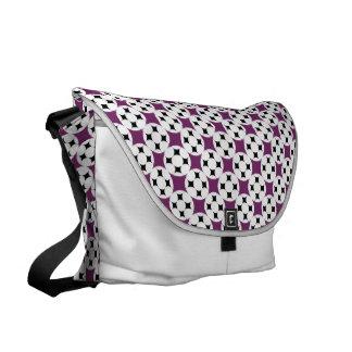 Four Star Circle Courier Bag