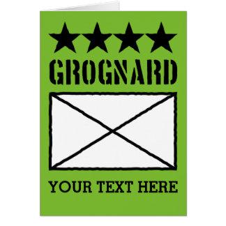 Four Star Grognard Card