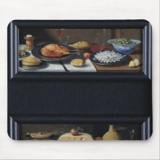 Four Still Lives of Food and Fruit Mouse Pad