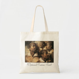 Four Studies of the Head of a Negro Budget Tote Bag