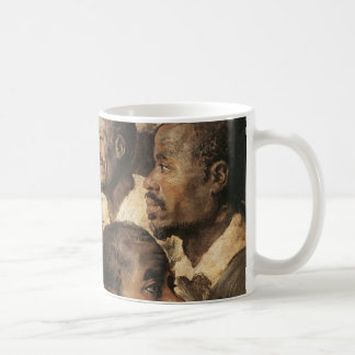 Four Studies of the Head of a Negro Coffee Mug