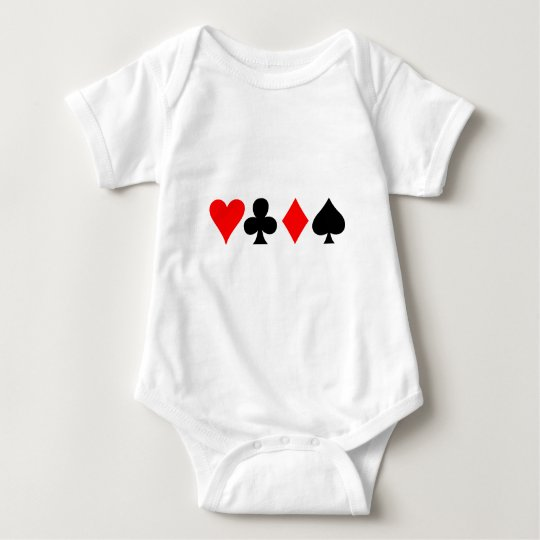 Four Suits Baby Bodysuit