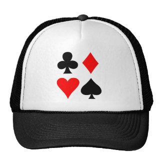 Four Suits Hats