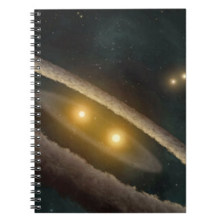 Four Suns Spiral Note Book