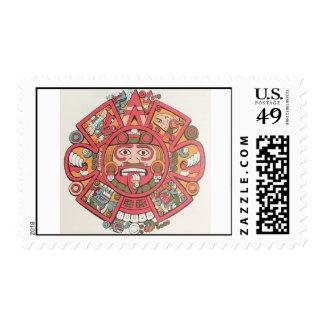 Four-Suns Postage Stamp