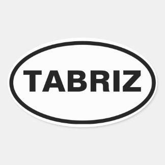 FOUR Tabriz Oval Sticker