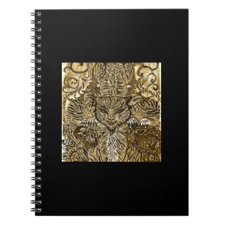 Four Tigers Notebook