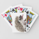 Four-toed Hedgehog - Atelerix albiventris Bicycle Playing Cards