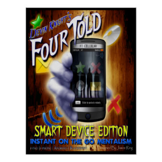 Four Told - Smart Device Edition | Poster