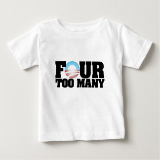 four too many baby T-Shirt