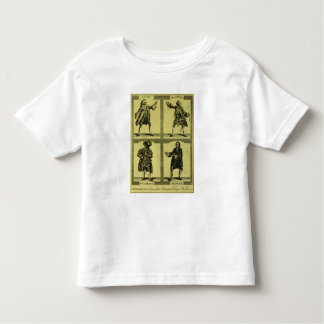 Four Tragic Roles Toddler T-shirt