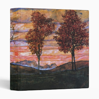 Four Trees 3 Ring Binder