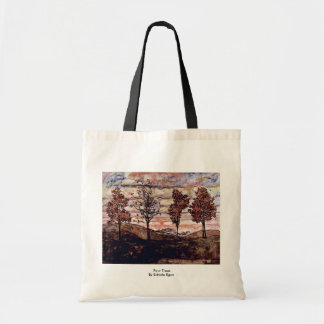 Four Trees By Schiele Egon Tote Bags