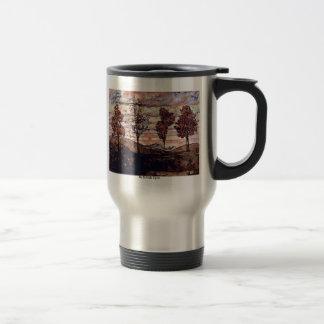 Four Trees By Schiele Egon Coffee Mug