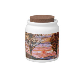 Four Trees Candy Jars