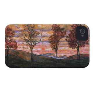 Four Trees iPhone 4 Case