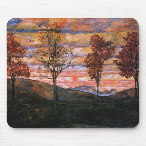 Four Trees Mouse Pad