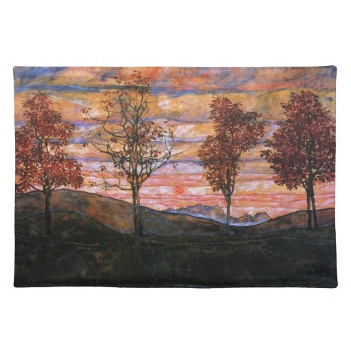 Four Trees Place Mat