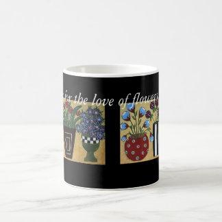 Four Vases Coffee Mug