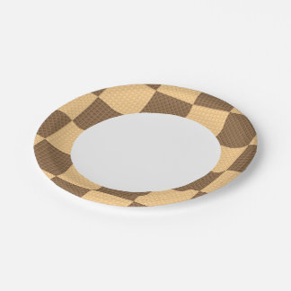 Four Wafers Paper Plate