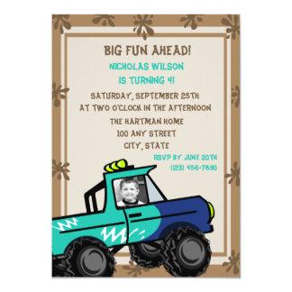 Four Wheel Fun/ Birthday Card