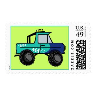 Four Wheel Fun Postage Stamp