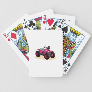 Four Wheeler Bicycle Playing Cards