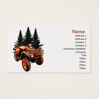 Four Wheeler Business Card