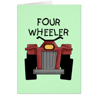 Four Wheeler Tshirts and Gifts Card