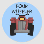 Four Wheeler Tshirts and Gifts Sticker