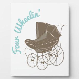 Four Wheelin Photo Plaque