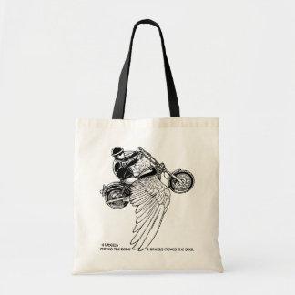 Four Wheels II Tote Bags