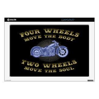 """Four Wheels III 17"""" Laptop Skin"""