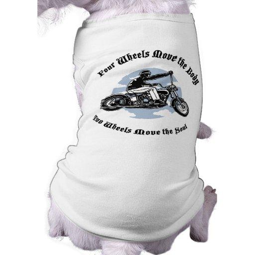 Four Wheels III Doggie Tee Shirt