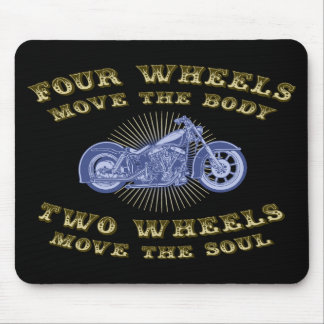 Four Wheels III Mouse Pad