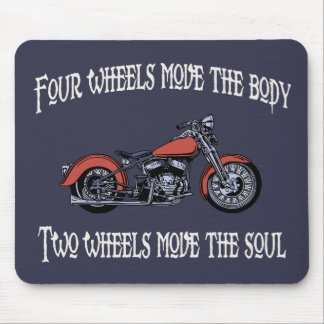 Four Wheels Move 717 Mouse Pad