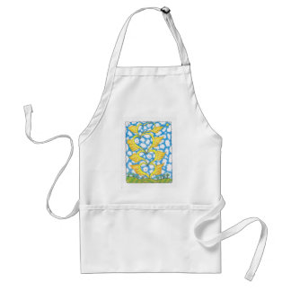 FOUR WINGED HEARTS by Ruth I. Rubin Adult Apron