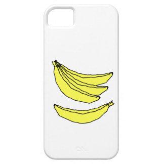 Four Yellow Bananas. iPhone SE/5/5s Case