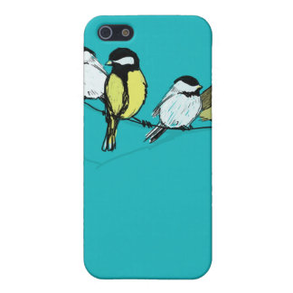 fourcalling-birds cover for iPhone SE/5/5s